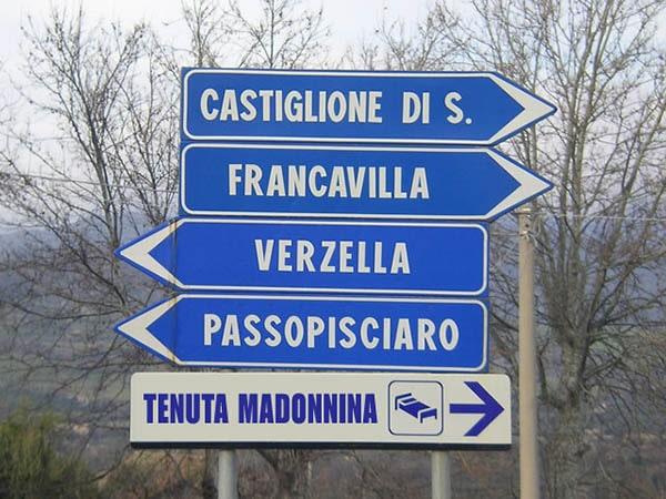 Route Beschreibung Urlaub zu Hause Sizilien-Tenuta Madonnina