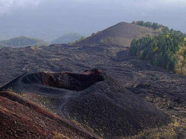 Etna kraters - Tenuta Madonnina - Vakantiehuis Sicilie