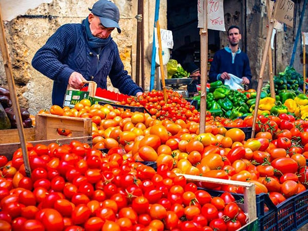 Markt - Tenuta Madonnina - Vakantiehuis Sicilie