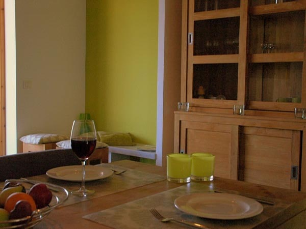 Tenuta Madonnina - Casa Pera eettafel