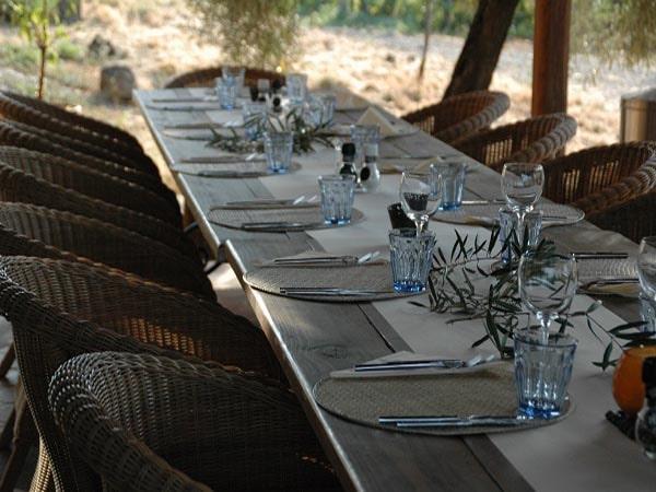 Tenuta Madonnina - Gedekte tafel terras