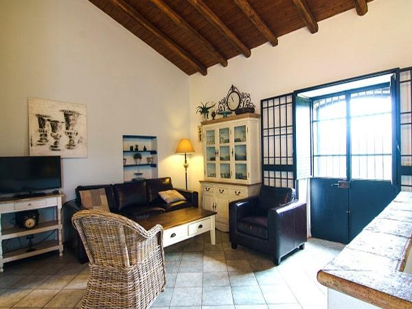 Tenuta Madonnina - Villa Etna zithoek