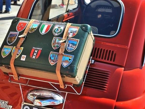 Tenuta Madonnina - fiat met koffer