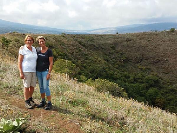 Tenuta Madonnina - wandelen dode vulkaan