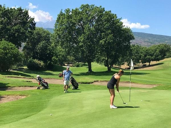 Tenuta Madonnina - Etna golf green-min
